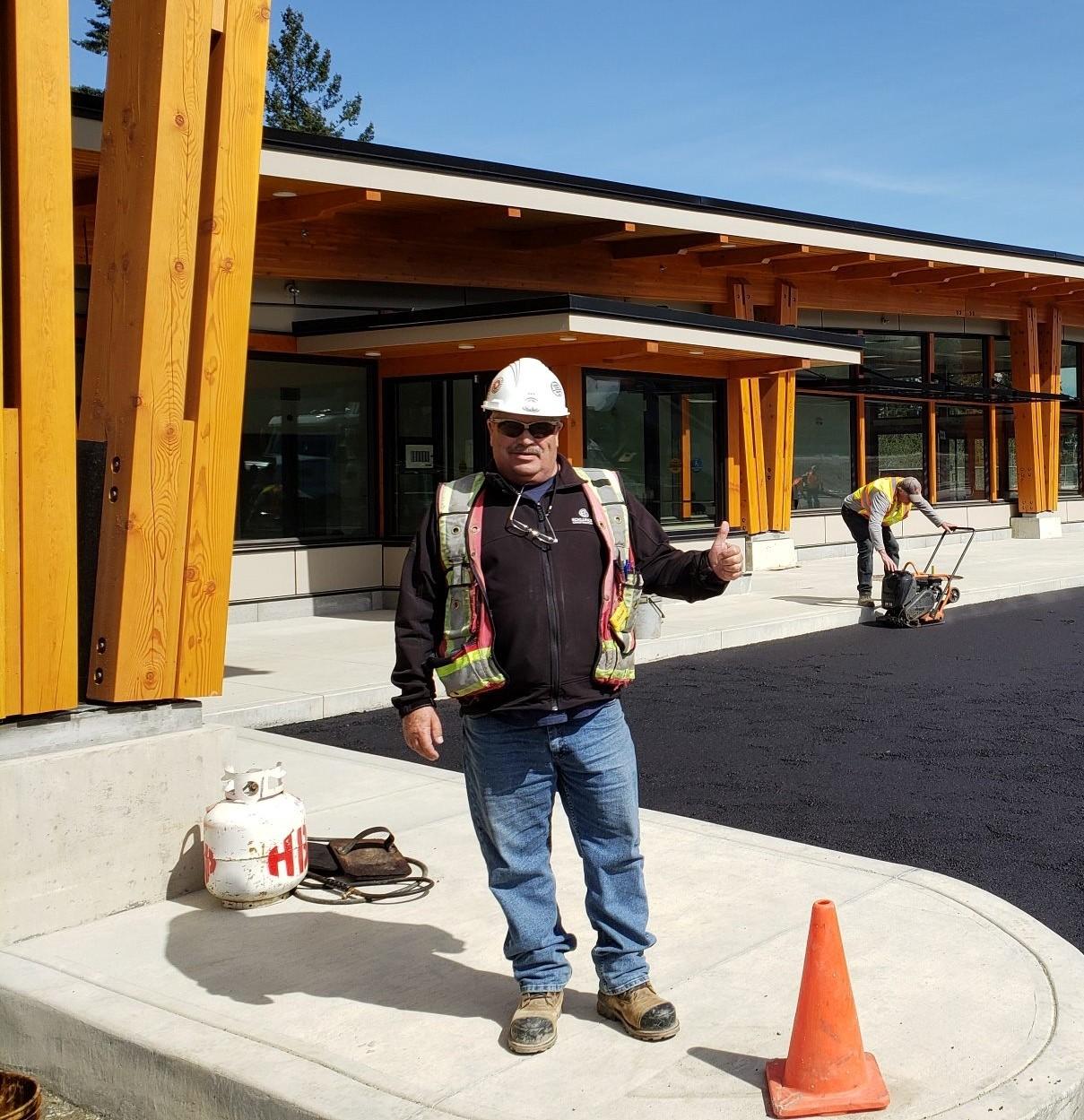Ecklundson Construction Ken Van Hullebush Site Superintendent