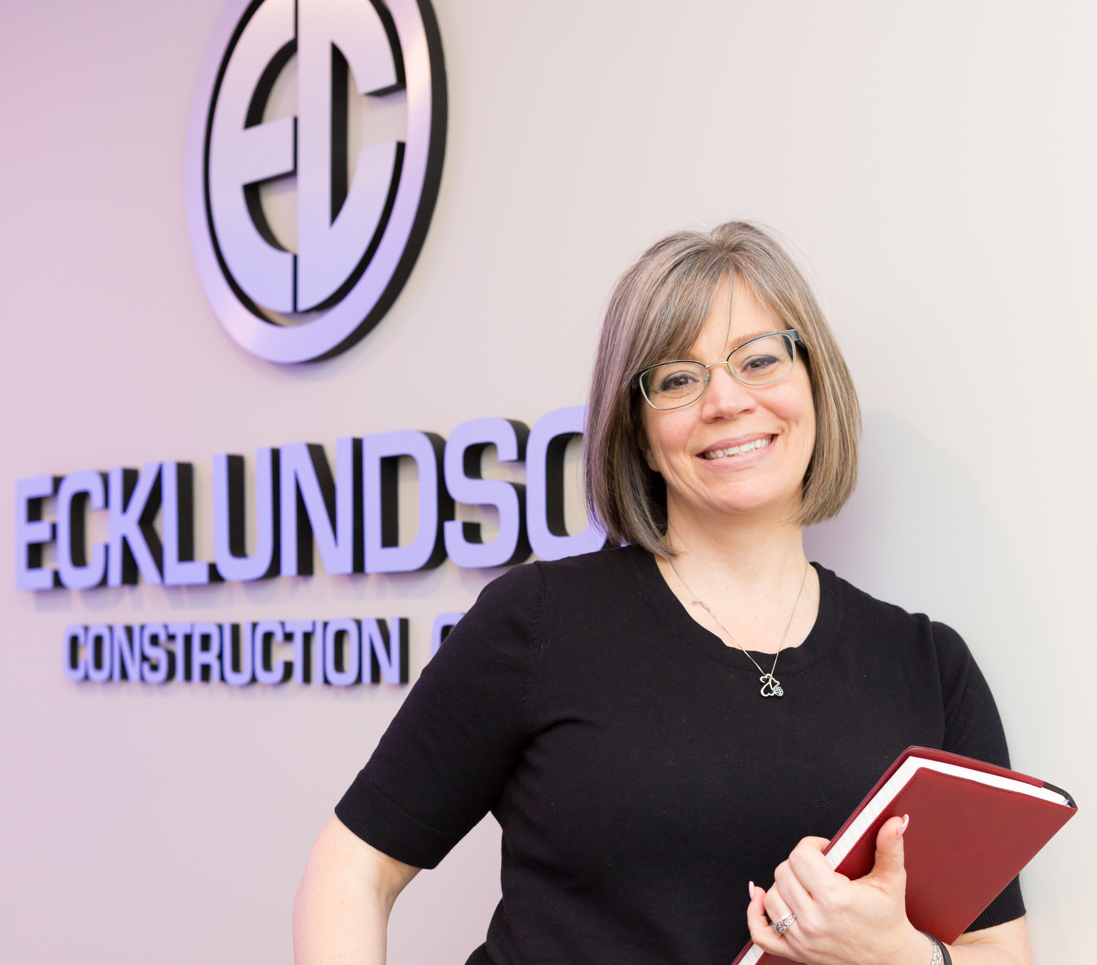 Ecklundson Construction Operations Manager Michelle Bates